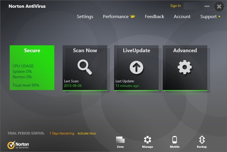 norton antivirus download trial