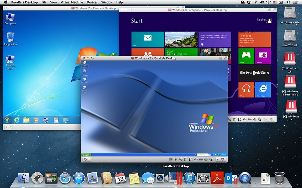 See Parallels Desktop in Action