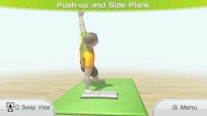 Wii Fit U Plank