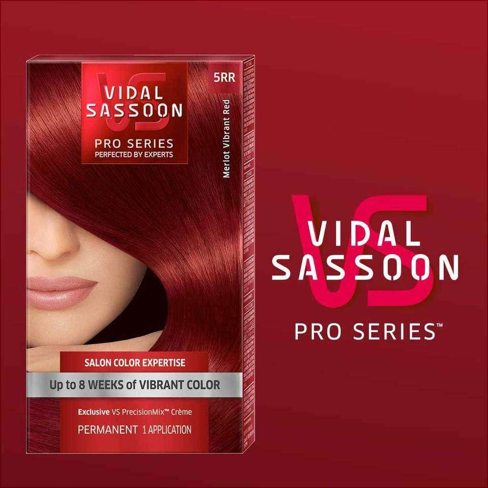 Amazon.com : Vidal Sassoon London Luxe 6rr Runway Red 1 Kit : Chemical