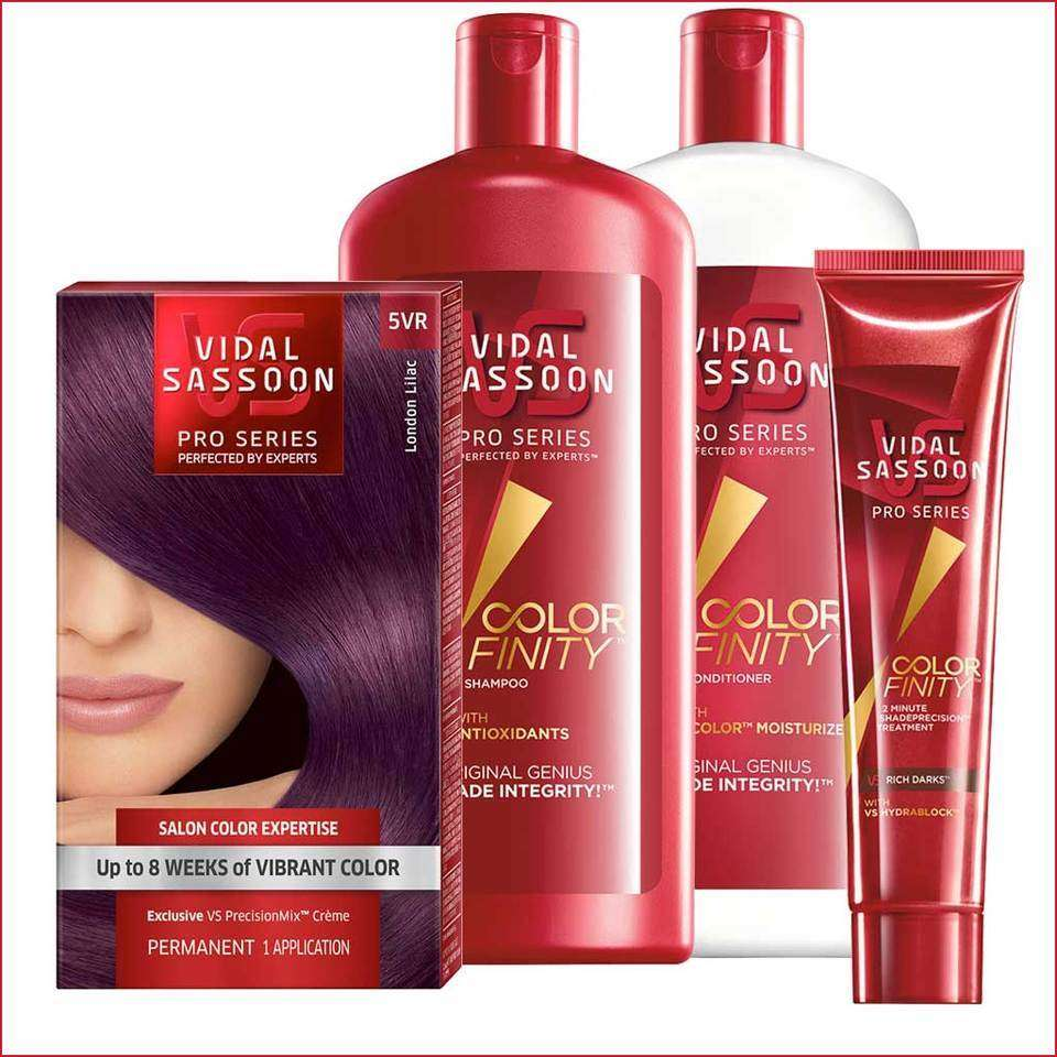 Amazon Vidal Sassoon London Luxe 5vr London Lilac 1 Kit