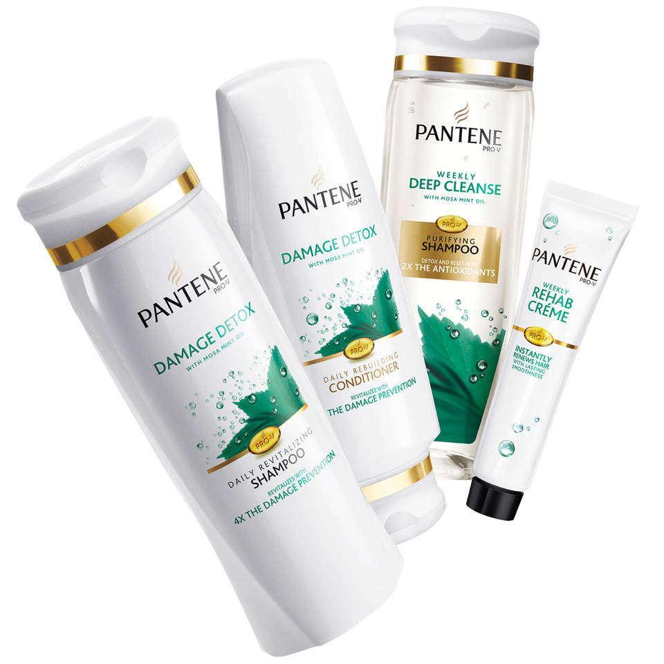 Amazon Pantene Pro V Damage Detox Daily Revitalizing Shampoo