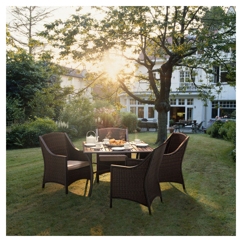 Amazon.com : Strathwood Mason All-Weather Wicker Dining