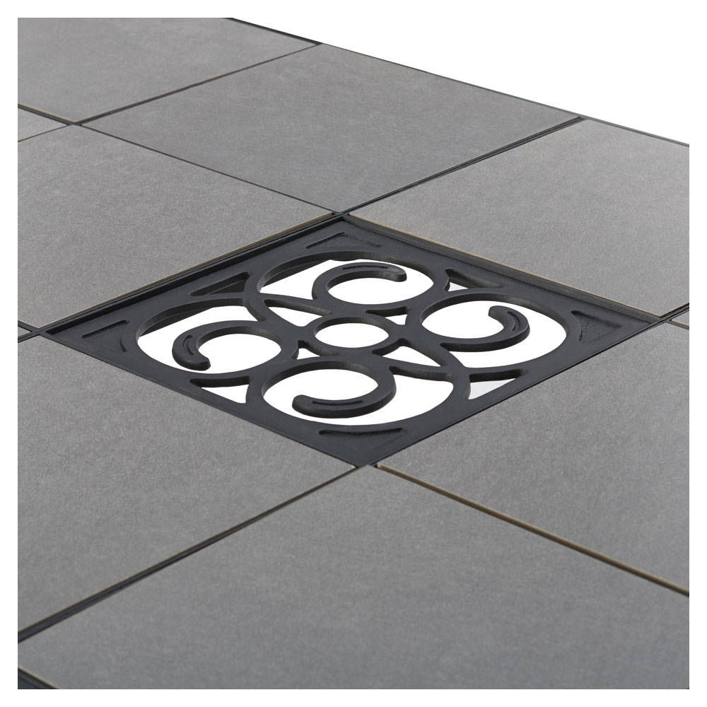 Patio Table Umbrella Hole Tile