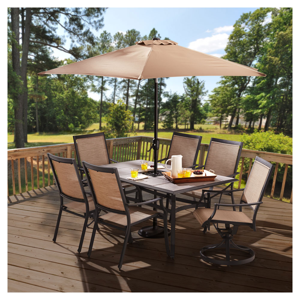 Outdoor Patio Furniture Sale Amazon: Amazon.com : Strathwood Barnes Aluminum Sling Chair, Set