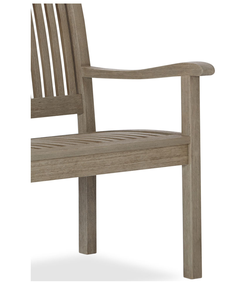 Strathwood all weather hardwood 3 seater - Naturewood furniture for both indoor and outdoor sitting ...