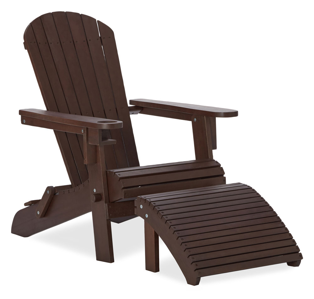 Amazon Strathwood Adirondack Chair with Cupholder