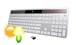 Logitech Wireless Solar Keyboard K750 for Mac