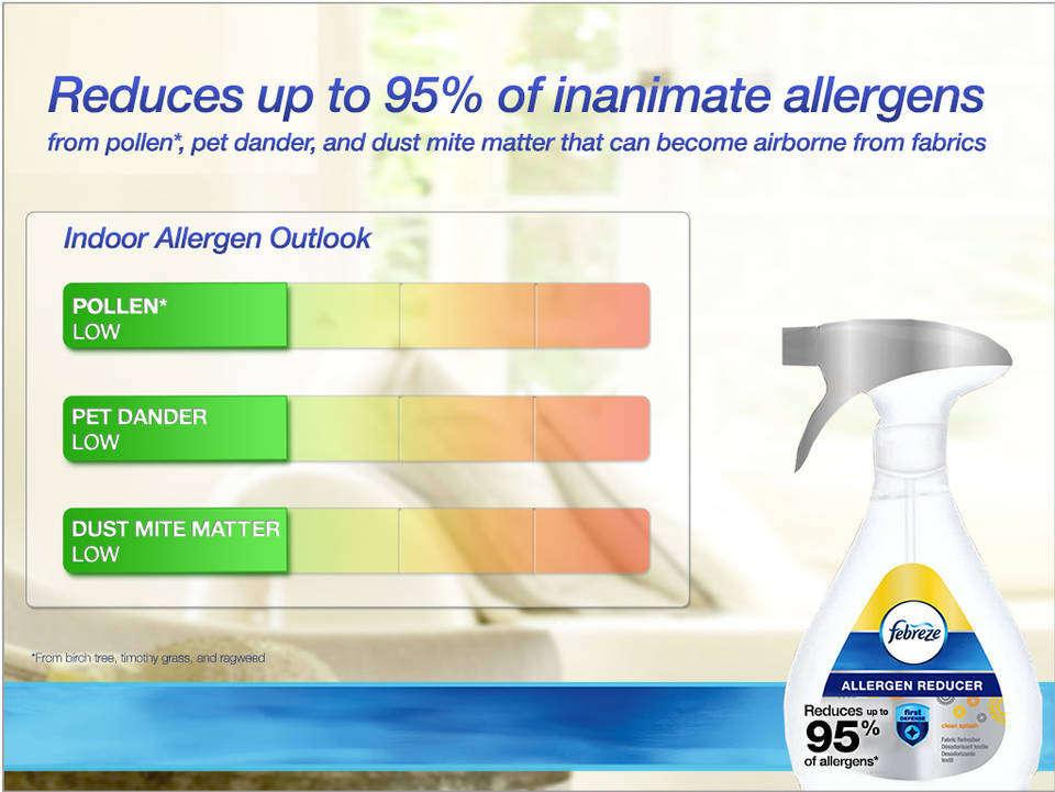 Amazon Com Febreze Fabric Refresher Allergen Reducer