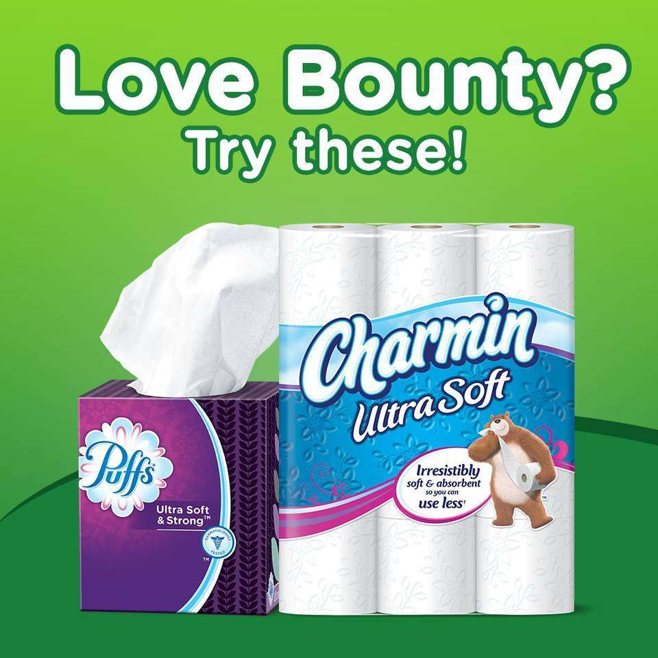 Amazon Com Bounty Paper Towels 24 Big Rolls 8 Packs Of 3