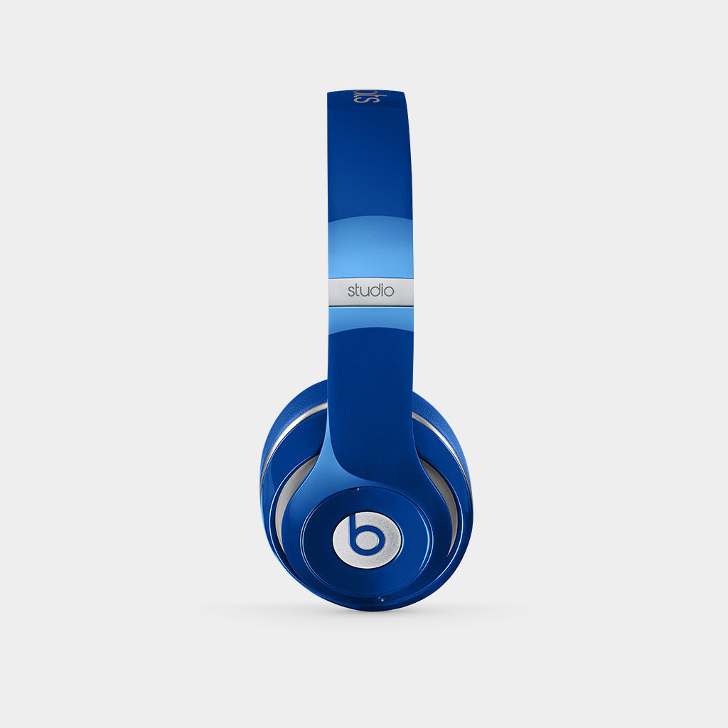 beats studio wireless over ear headphone blue electronics. Black Bedroom Furniture Sets. Home Design Ideas