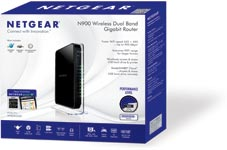 N900 WiFi Dual Band Gigabit Router