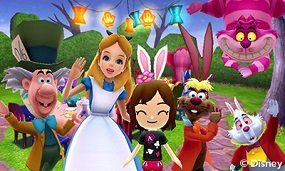 Join the mad tea party with Alice & Friends