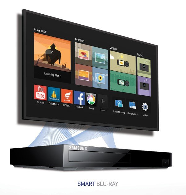 samsung bd h6500 3d smart blu ray disc player electronics. Black Bedroom Furniture Sets. Home Design Ideas