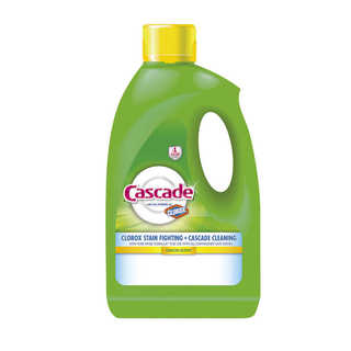 Cascade Gel with the Power of Clorox