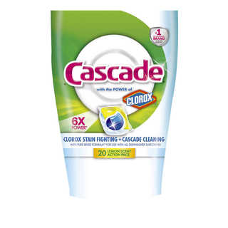 Cascade ActionPacs with the Power of Clorox