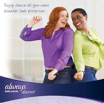 Always Discreet Incontinence Disposable Underwear