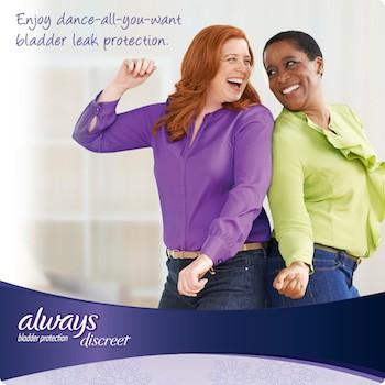 Always Discreet Incontinence Panty Liners