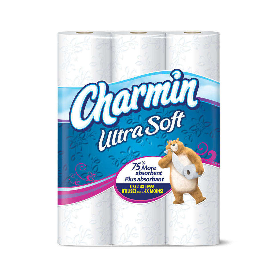 Amazon Com Charmin Basic Toilet Paper Bath Tissue Huge