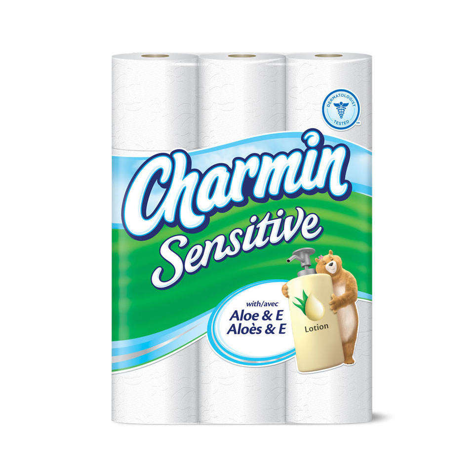 Amazon.com: Charmin Basic Toilet Paper, Bath Tissue, Huge