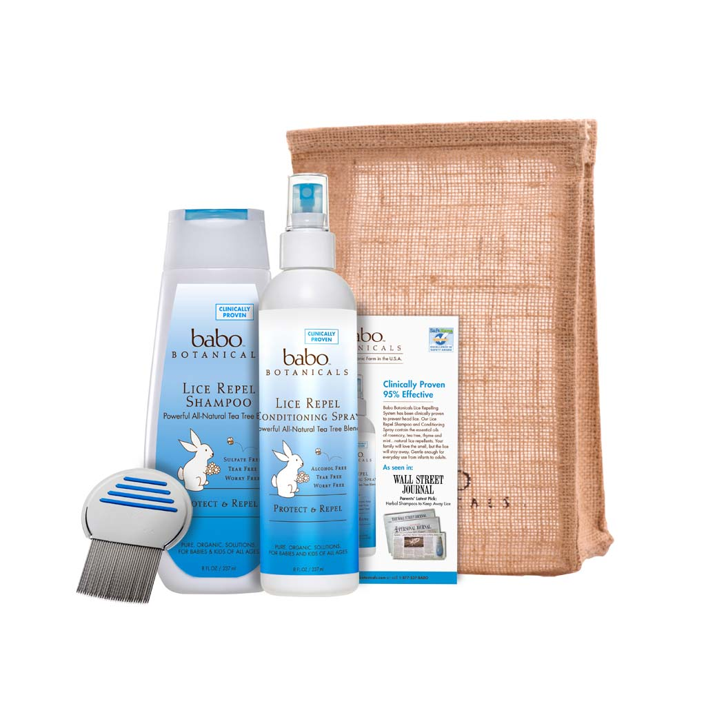 Amazon.com: Babo Botanicals Essential Lice Prevention Set with Lice