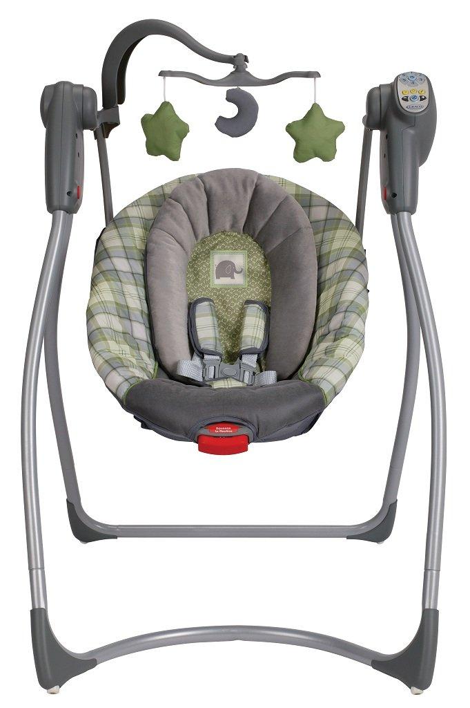 Amazon Com Graco Comfy Cove Lx Infant Swing Roman