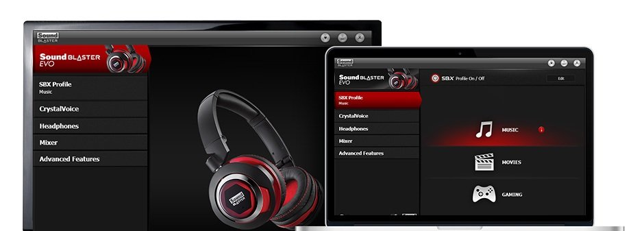 Creative Sound Blaster EVO USB Headset Drivers Download Free