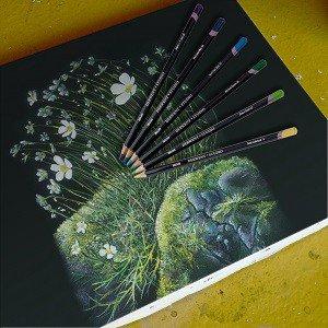 Studio Colored Pencils drawing