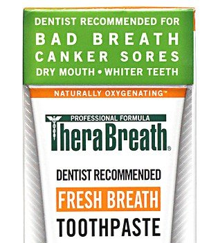 TheraBreath Dry Mouth Toothpaste