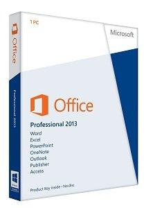 Amazon.com: Office Professional 2013 Key Card 1PC/1User: Microsoft ...