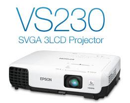 VS230 SVGA 3LCD Projector