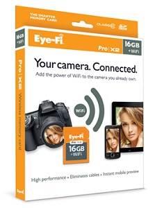 Amazon.com: Eye-Fi Pro x2 SDHC Class 10 Tarjeta de memoria ...