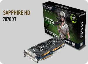 SAPPHIRE HD 7870 XT