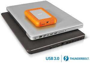 LaCie Rugged USB 3.0 Thunderbolt Series