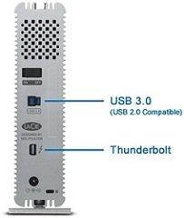 LaCie d2 USB3 Thunderbolt Series