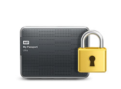 My Passport Ultra - Password protection