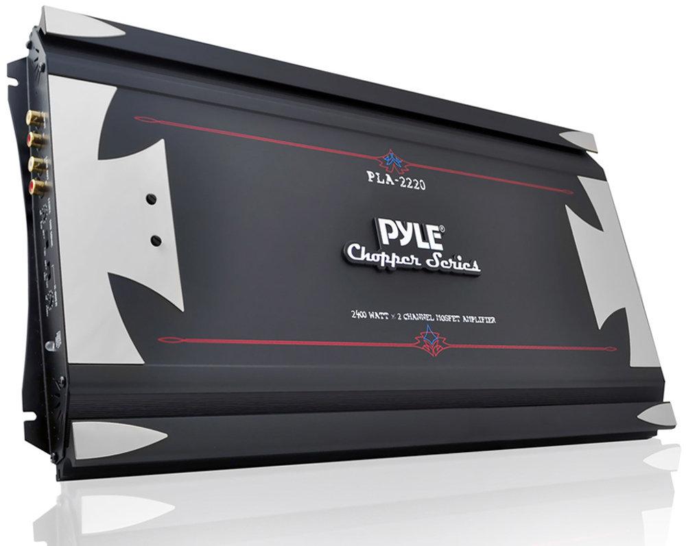 pyle pla2220 2 channel 2400 watt bridgeable. Black Bedroom Furniture Sets. Home Design Ideas