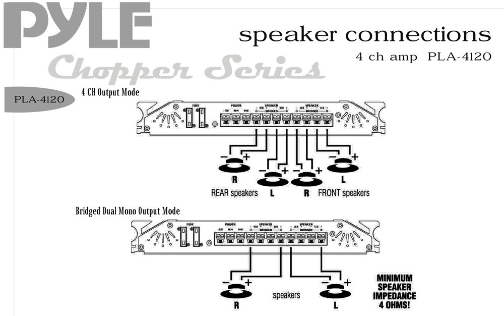 Boss Amplifier Wiring Diagram : Pyle plmra wiring diagram images