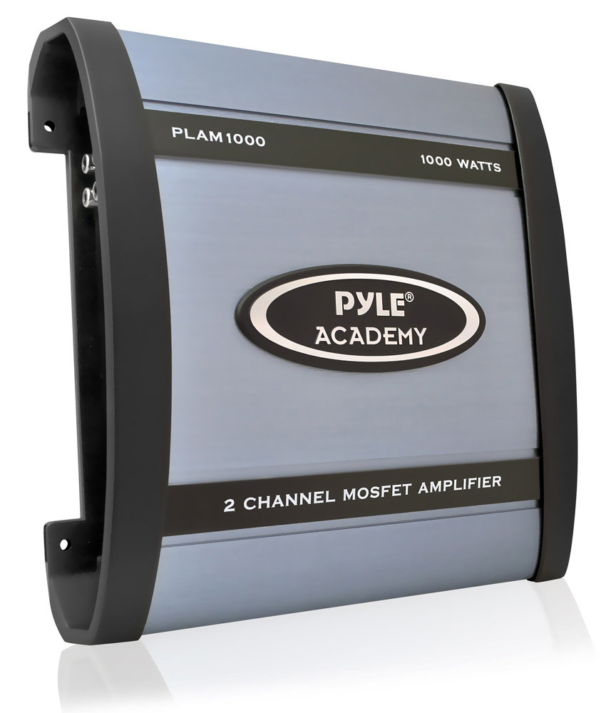 Pyle Plam1000 1000 Watt 2 Channel Bridgeable Amplifier Way Speaker Wiring Diagram