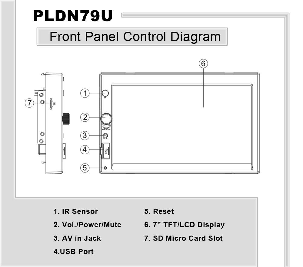 Amazon Com  Pyle Pldn79u 7