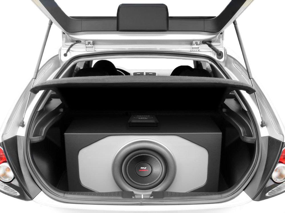 Amazon.com: Pyle Car Subwoofer Audio Speaker - 8in Non-Pressed Paper ...