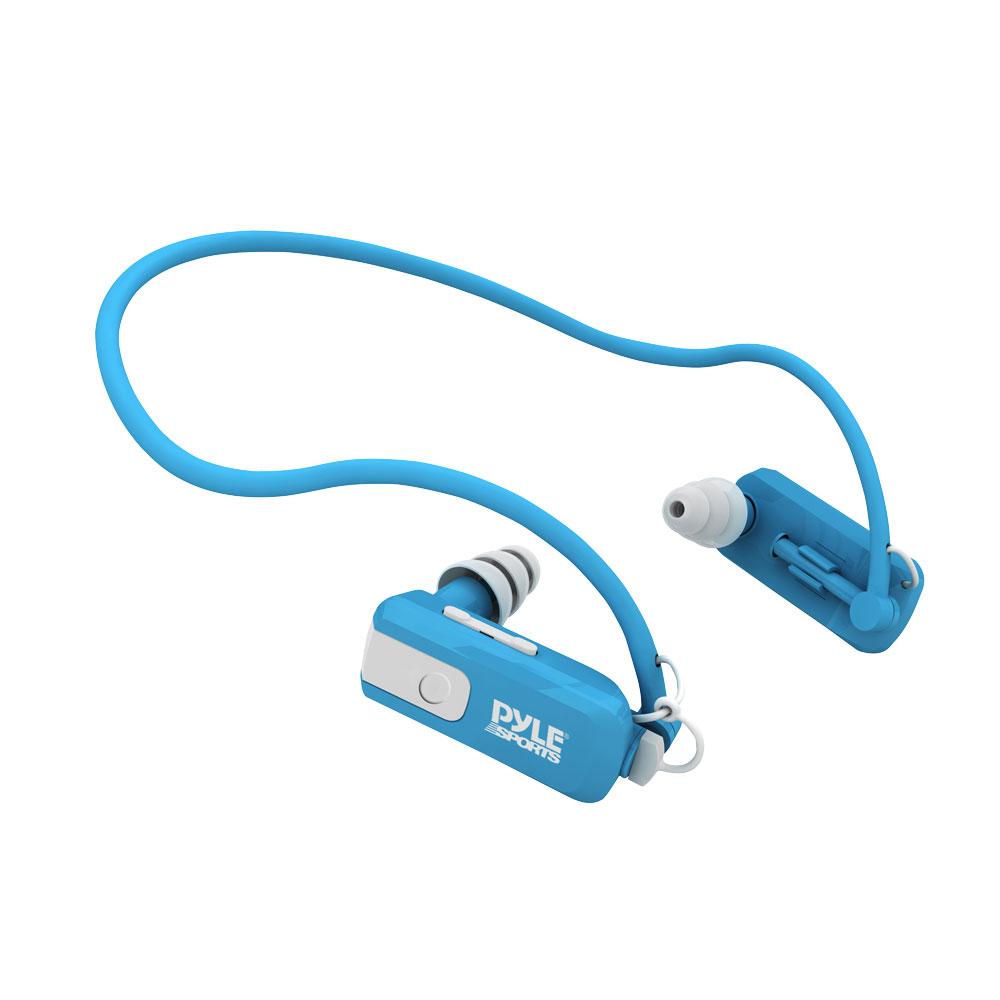 Amazon.com: Pyle PSWB4BL Waterproof Neckband MP3 Player ...
