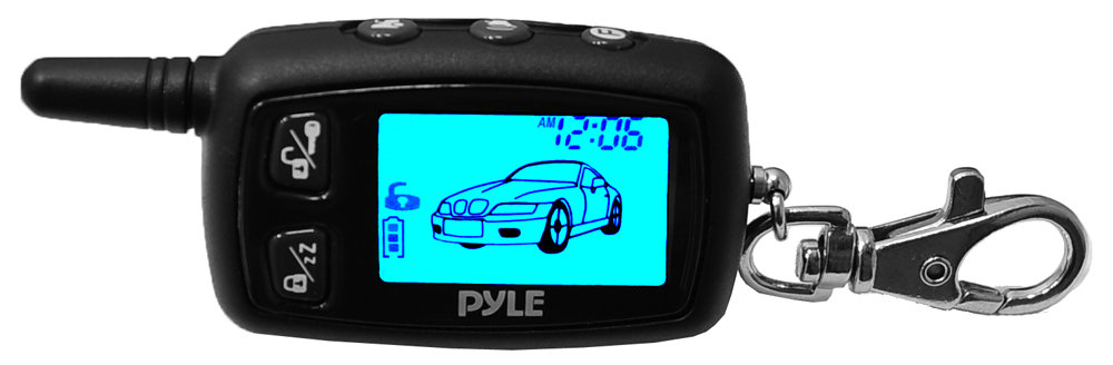 Amazon.com: Pyle PWD901 LCD 2-Way Remote Start Security System with ...