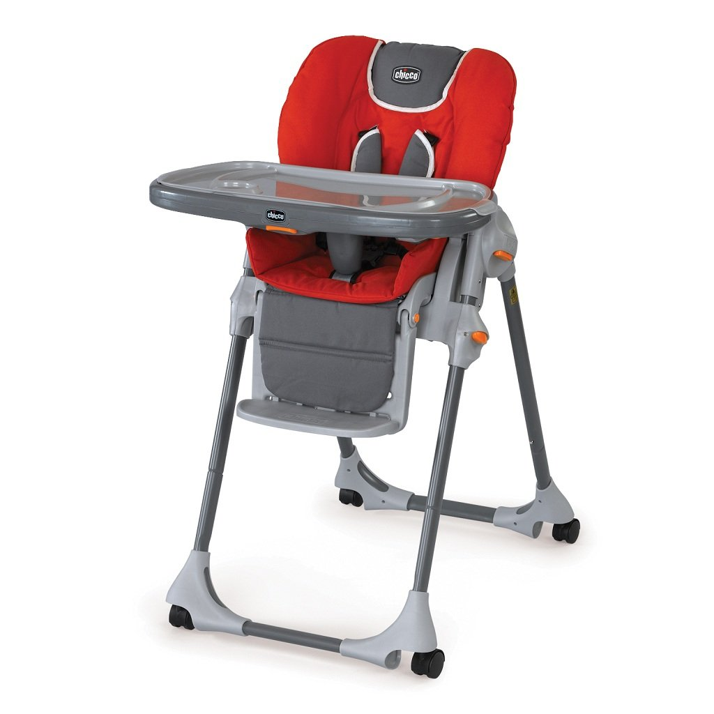 Amazon Com Chicco Polly Double Pad Fabric Highchair
