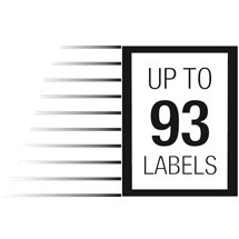 93 labels per minute