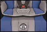 Memory foam seat pad