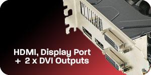 HD7870's external ports