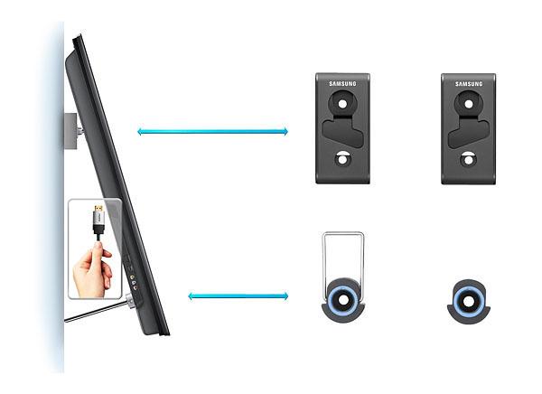 Samsung video wall mount