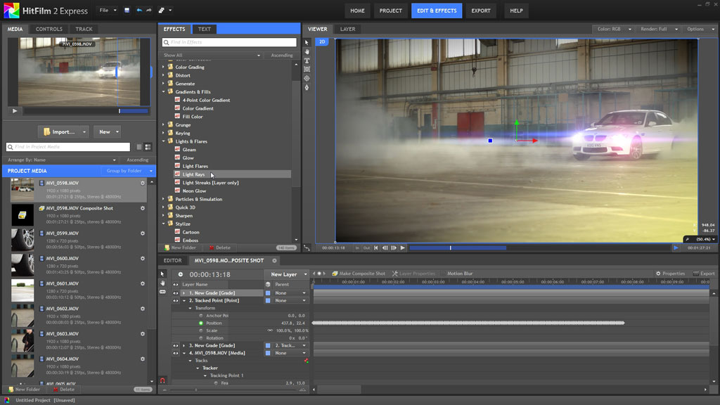 Sony Movie Studio Platinum Visual Effects Suite 2 [Download]