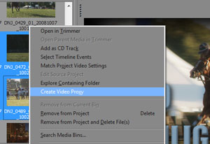 use low res versions of your video for fast editing, then swap with full quality before you render